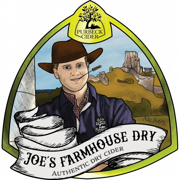 BIB Purbeck Joe's Farmhouse Dry Cider