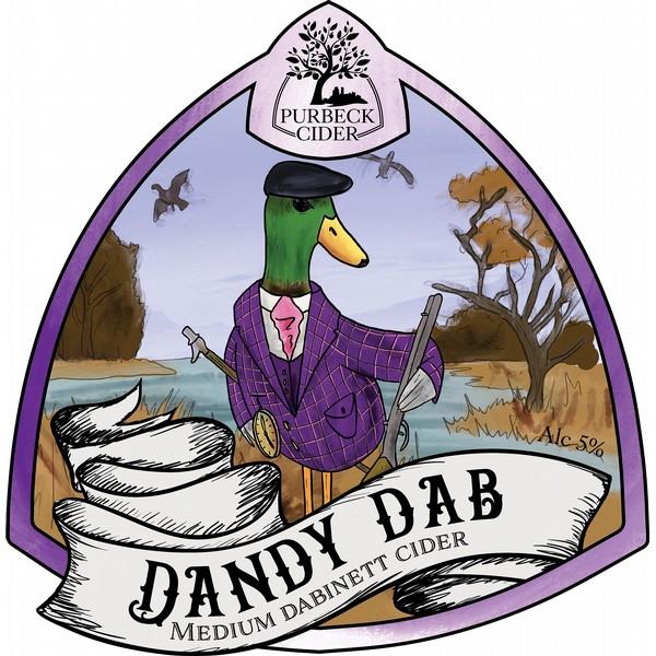 Purbeck Dandy Dabinett Flat Badge