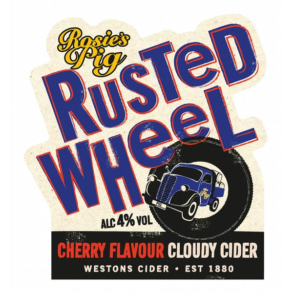 BIB  Westons Rusted Wheel Cherry