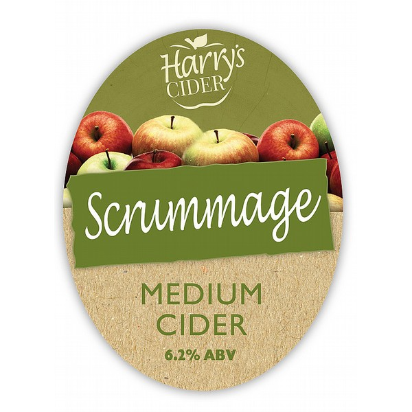 BIB Harry's Scrummage Medium  Cider