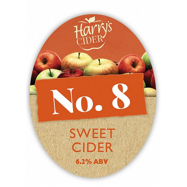 BIB Harry's No8 Sweet Farmhouse Cider