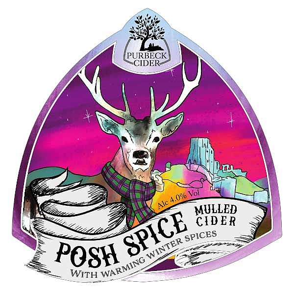Purbeck Posh Spice Cider