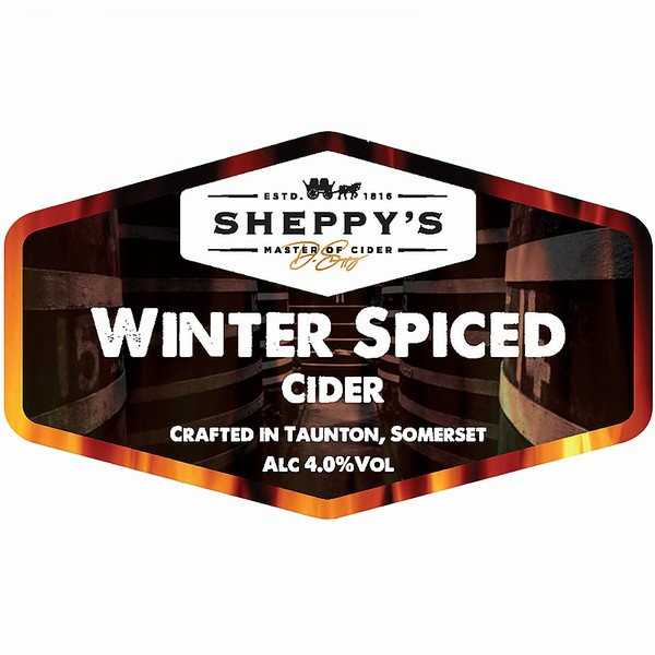 BIB Sheppy's Winter Spiced Cider