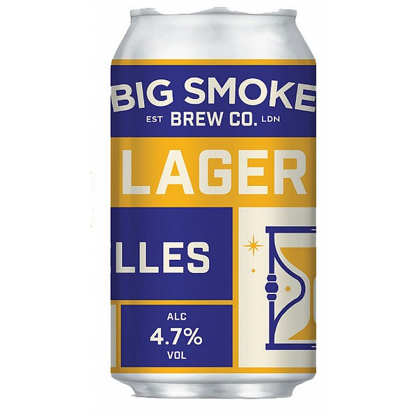Big Smoke Helles Lager Cans