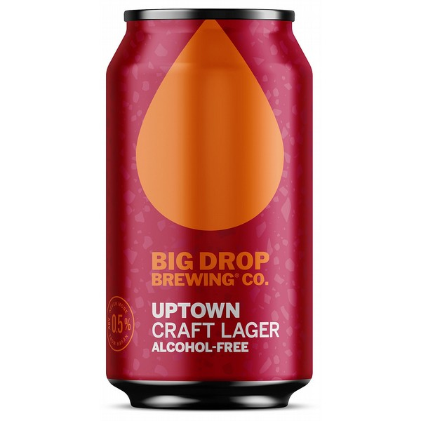 Big Drop Lager Cans