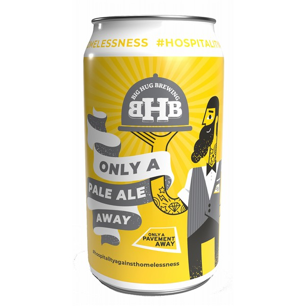 Big Hug Only a Pale Away Cans