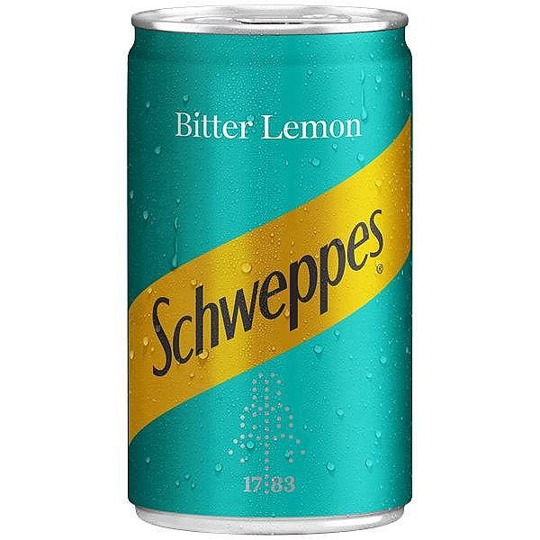 Schweppes Bitter Lemon Travel Cans