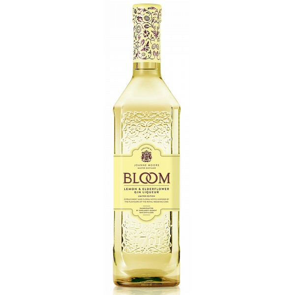 Bloom Lemon & Elderflower Gin Liqueur