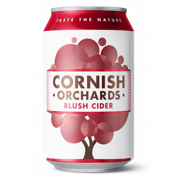 Cornish Orchards Blush Cider Cans