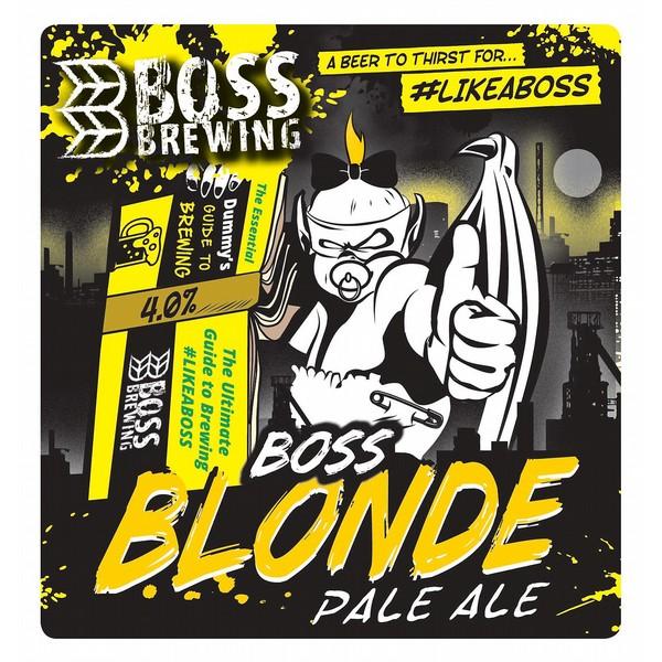 Boss Blonde Cask