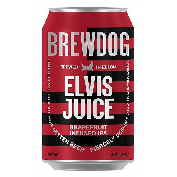 BrewDog Elvis Juice Cans