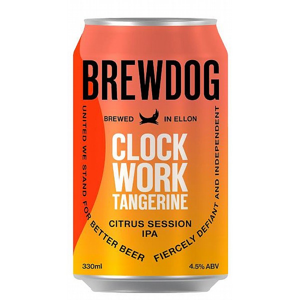 Brewdog Clockwork Tangerine Cans