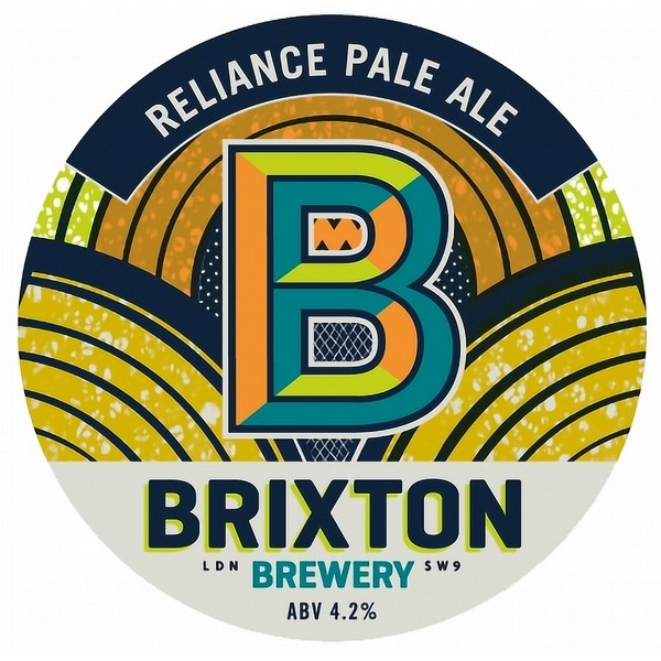 Brixton Reliance Oval  Badge