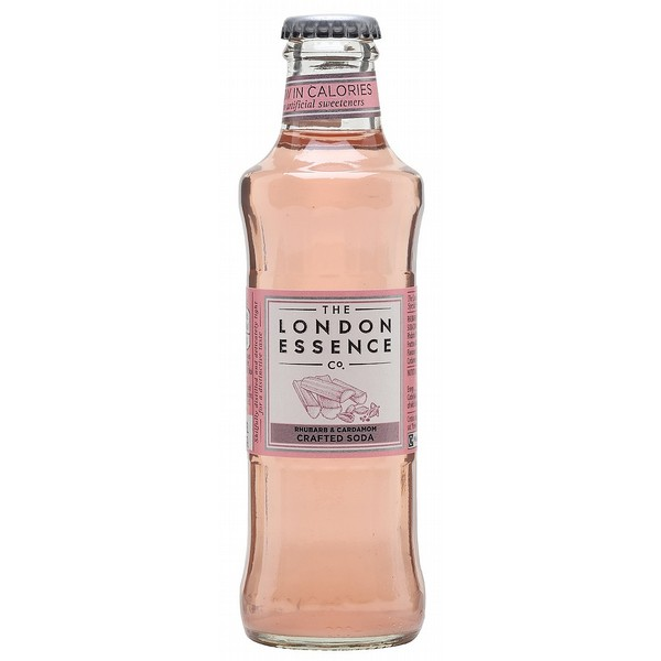 London Essence Rhubarb & Cardamom Soda