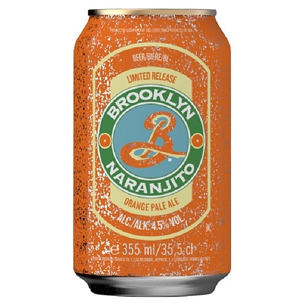 Brooklyn Naranjito Cans