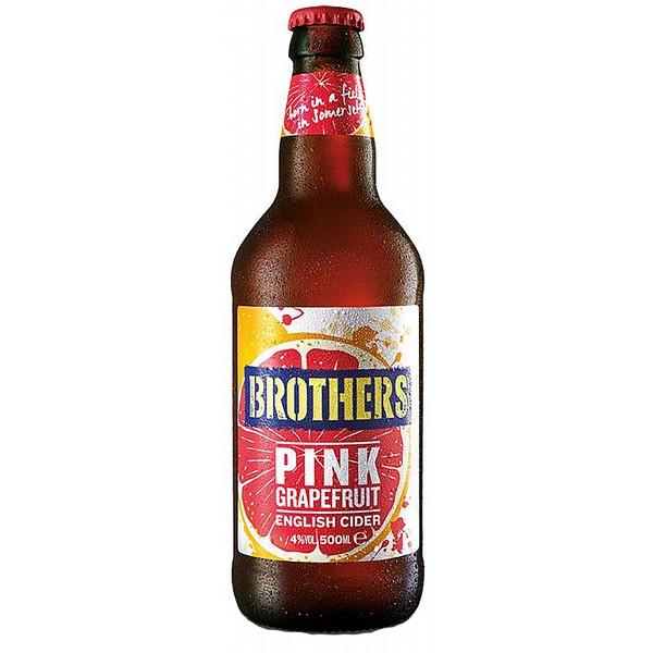 Brothers Pink Grapefruit Cider