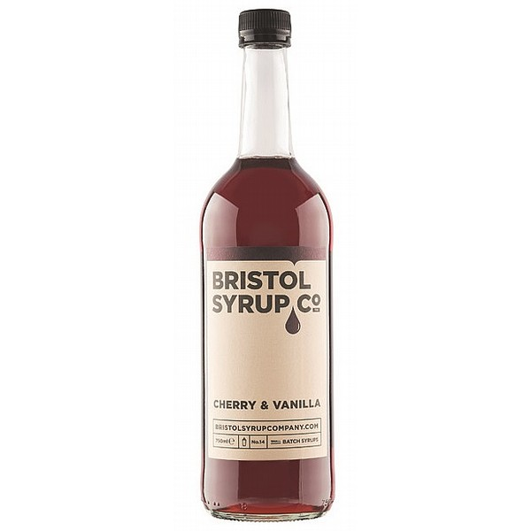 Bristol Syrup Co Cherry and Vanilla