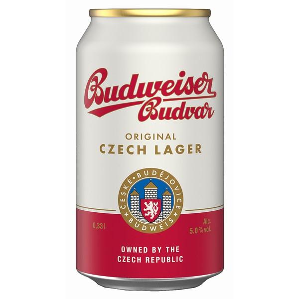 Budvar Original Cans