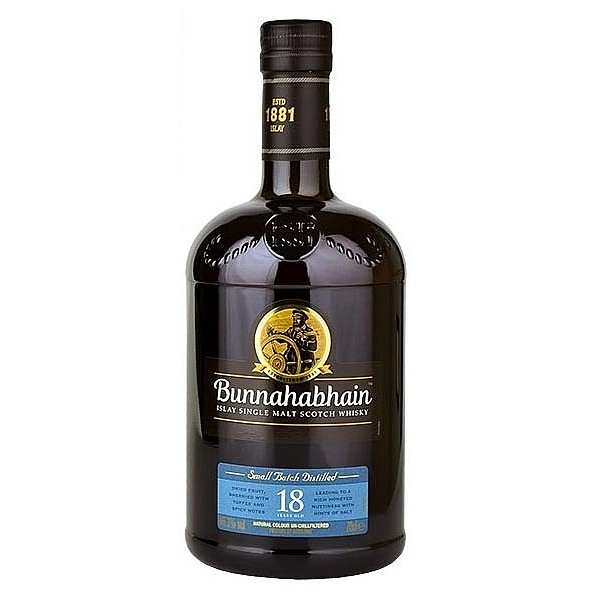 Bunnahabhain 18 Year Old Malt Whisky