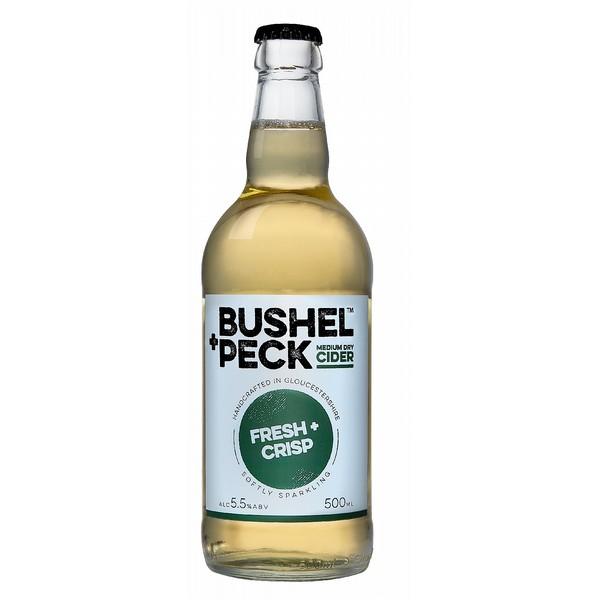 Bushel + Peck Fresh + Crisp Cider