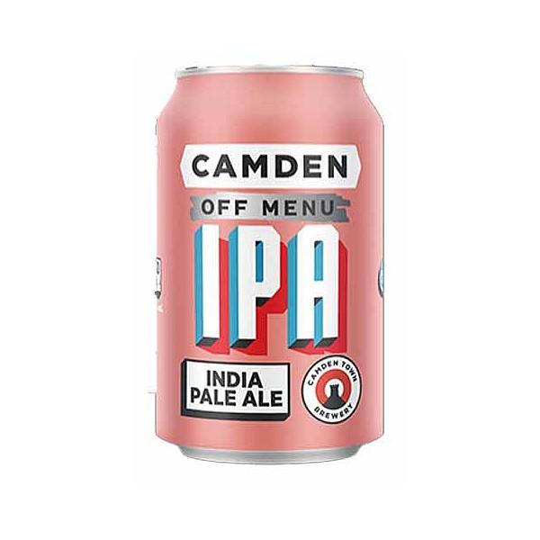 Camden Off Menu IPA Cans