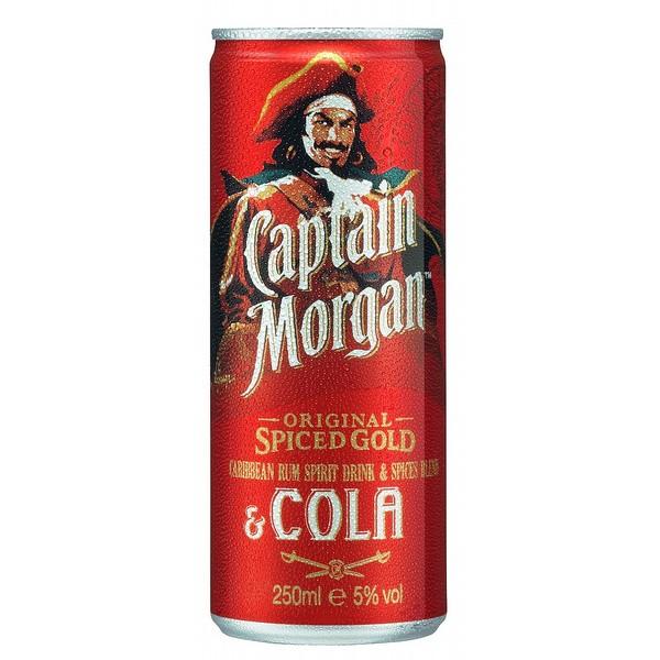 Captain Morgan Spiced & Cola Cans