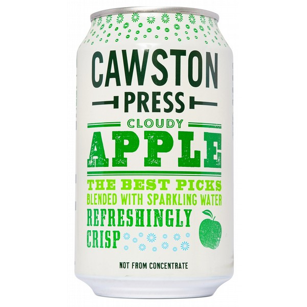 Cawston Press Sparkling Apple Cans