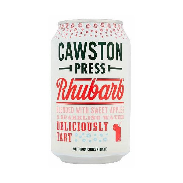 Cawston Press Sparkling Rhubarb Cans