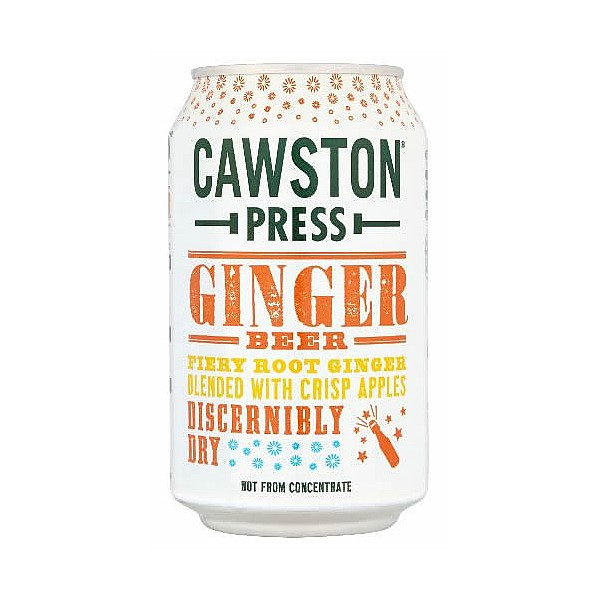 Cawston Press Sparkling Ginger Beer Cans