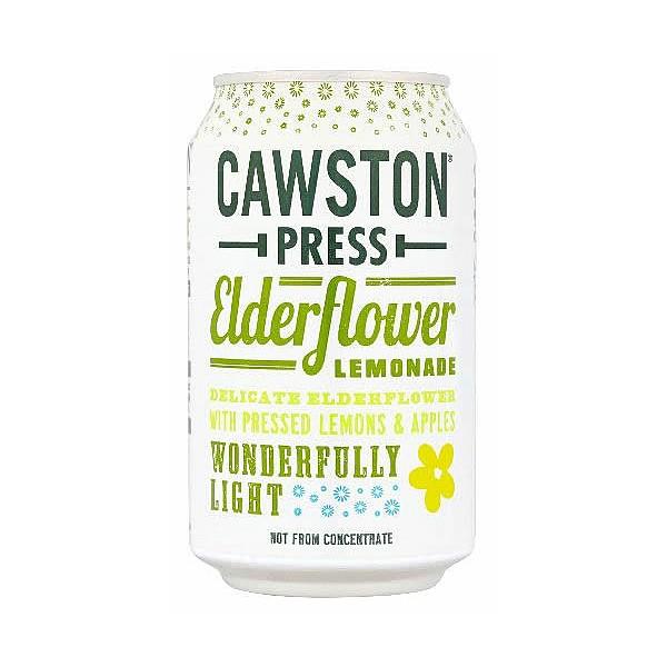 Cawston Press Sparkling Elderflower Cans