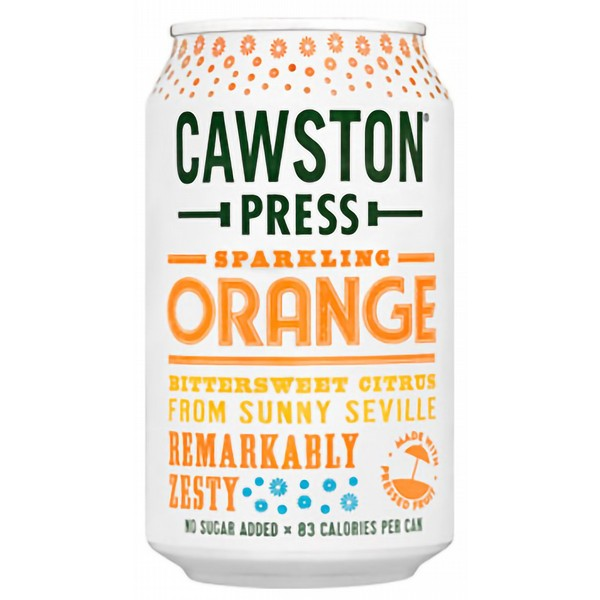 Cawston Press Sparkling Orange Cans