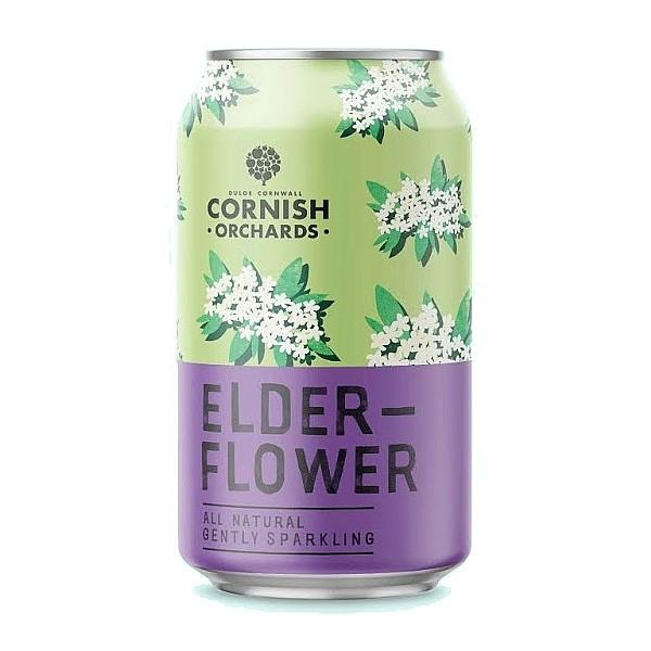 Cornish Orchards Elderflower Cans