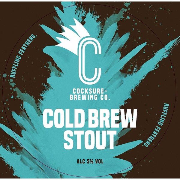 Cocksure Brewing Cold Brew Stout