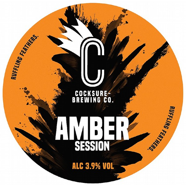 Cocksure Brewing Amber Session