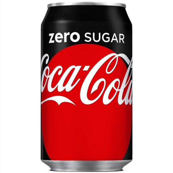 Coca Cola Zero Cans