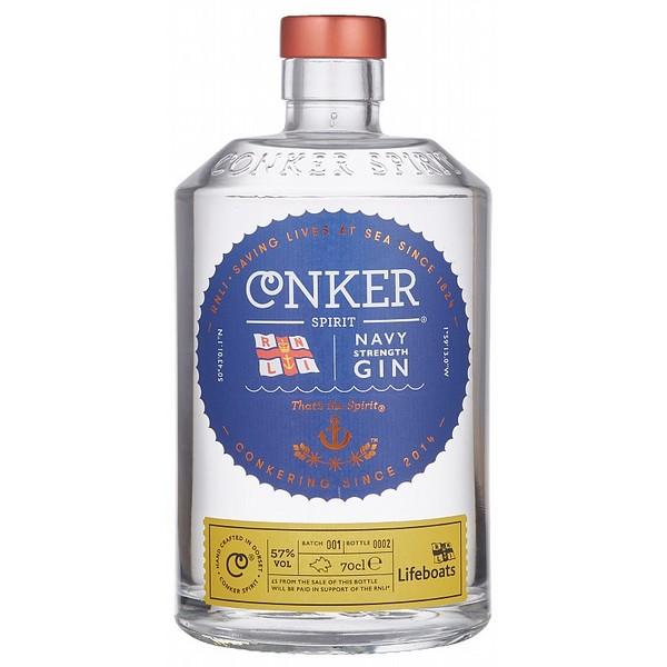 Conker Dorset Dry Navy Strength Gin