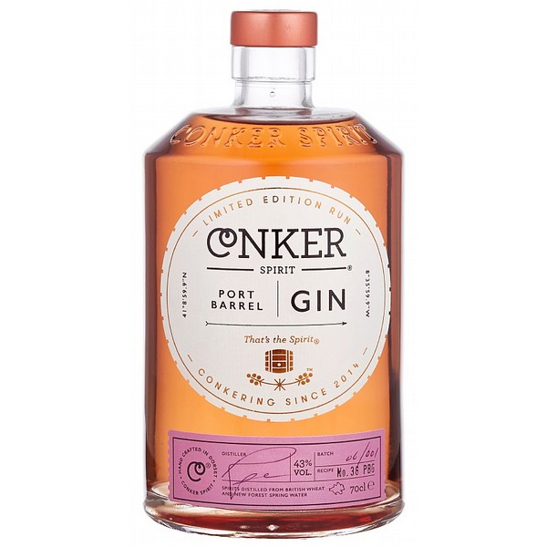 Conker Port Barrel Edition Gin