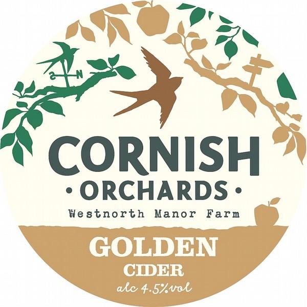 Cornish Orchards Golden Cider