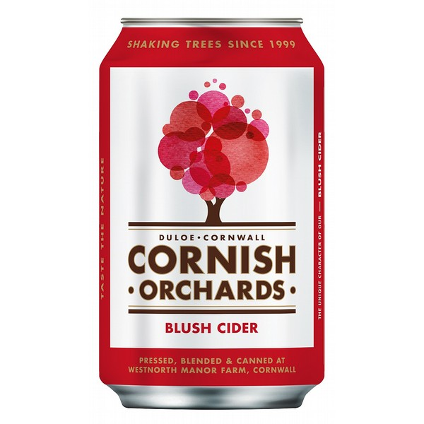 Cornish Orchards Blush Cider Can