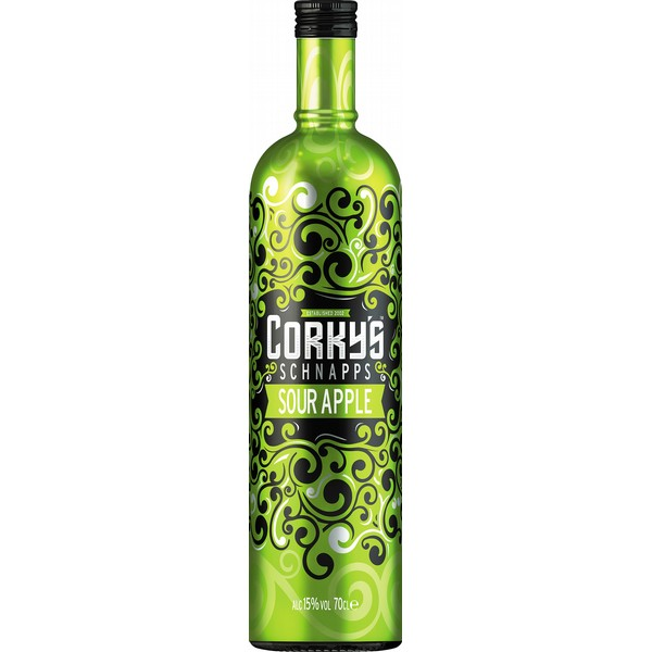 Corkys Sour Apple