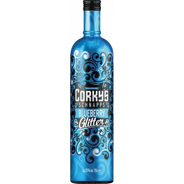 Corkys Blueberry Glitter