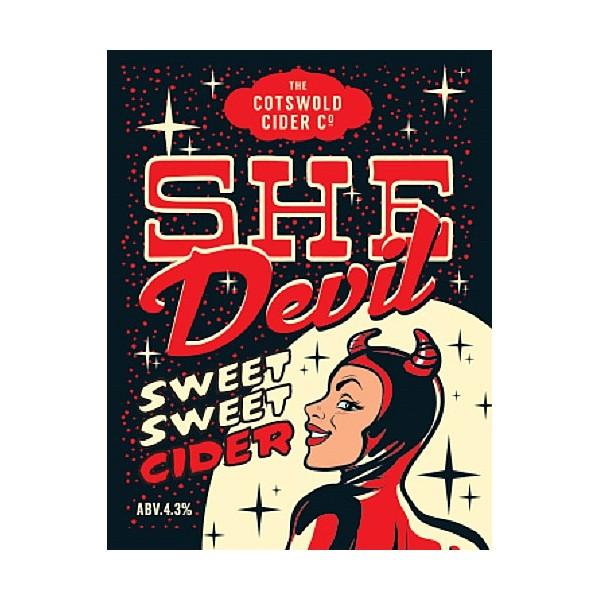 BIB Cotswold Cider Company She Devil