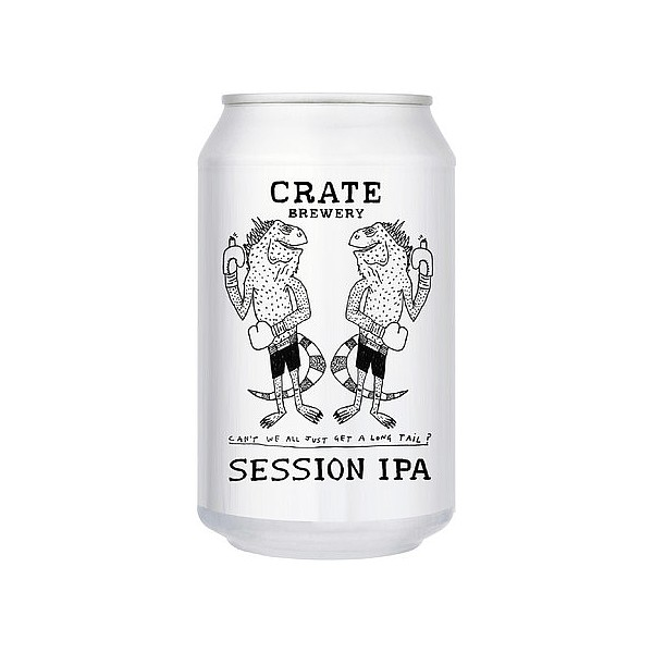 Crate SIPA Cans