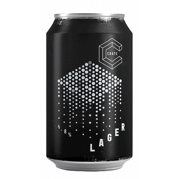 Crate Lager Cans