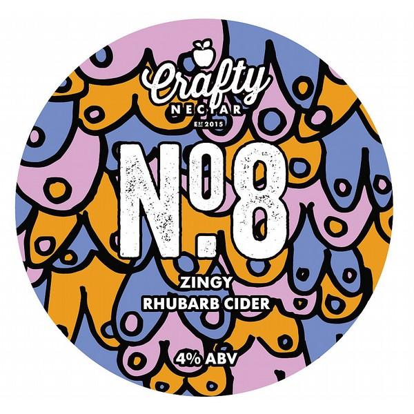 Crafty Nectar No 8  Rhubarb  Cider