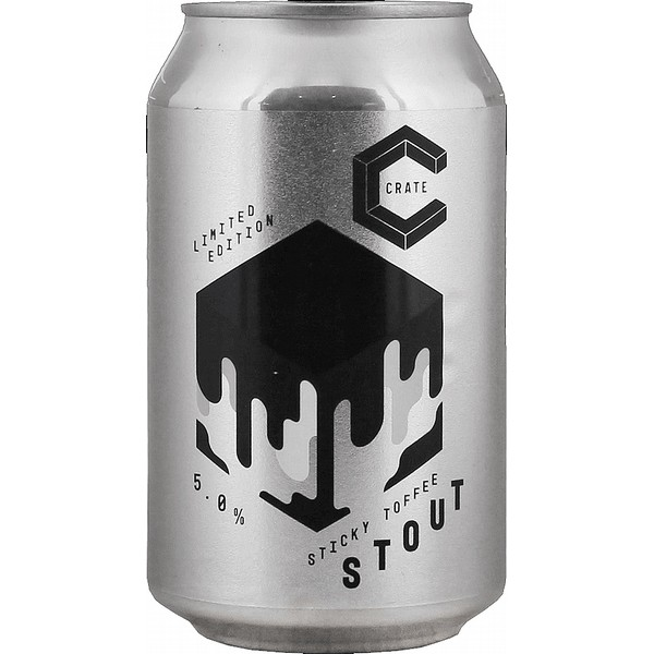 Crate Sticky Toffee Stout Cans