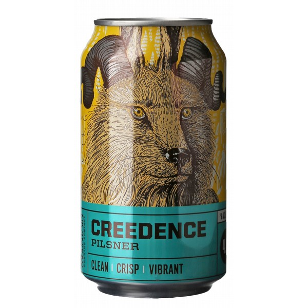 Crazy Mountain Creedence Pilsner  Cans