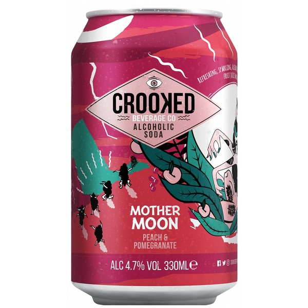 Crooked Mother Moon Peach & Pomegranate