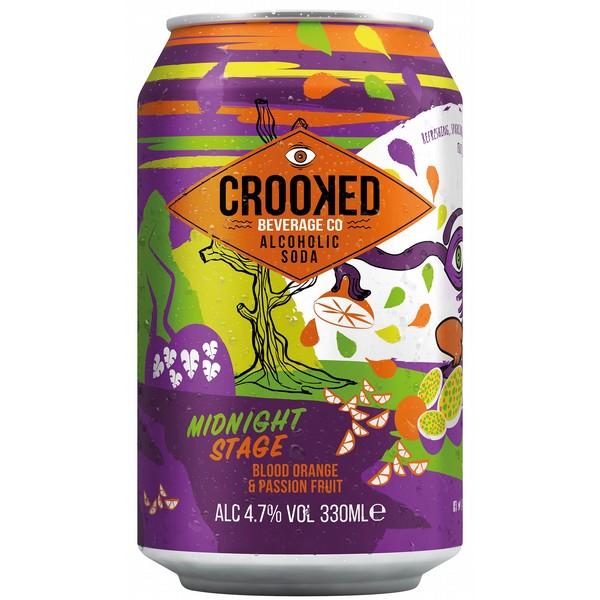 Crooked M'night Stage Orange&Passionfruit