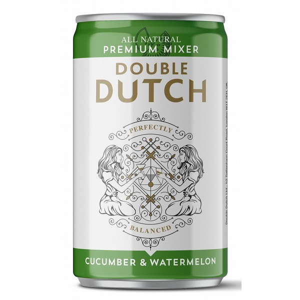 Double Dutch Watermelon & Cucumber Cans